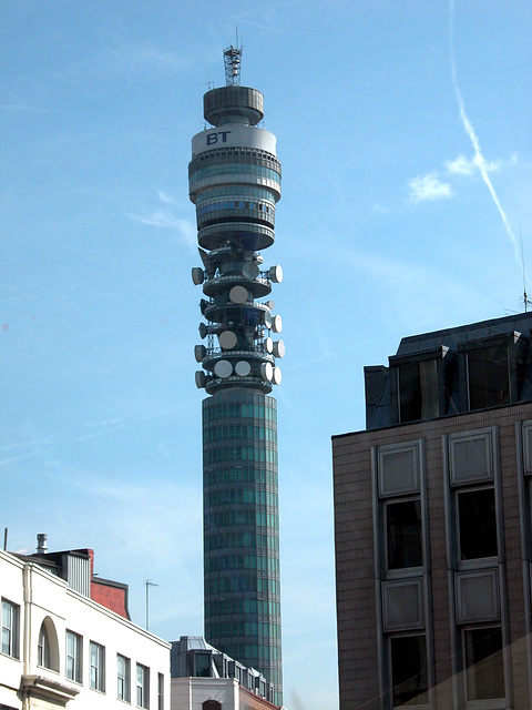 Post Office Tower in London