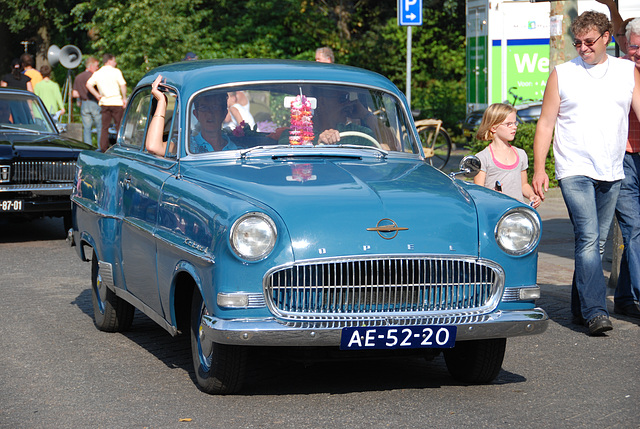 Oldtimer day at Ruinerwold: 1958 Opel Rekord