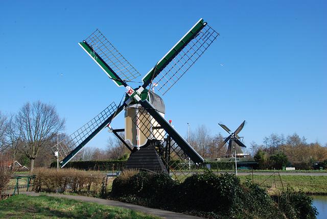 Windmills in Leiden