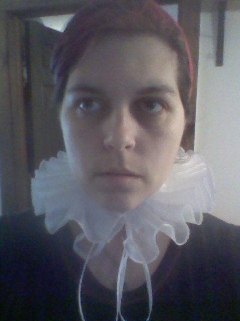 trying on new ruff!