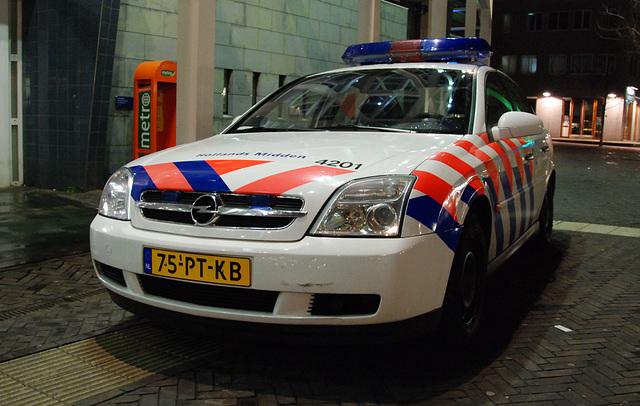 Standard Dutch police car