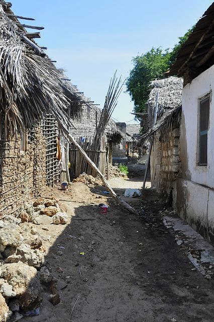 Straße in Matondoni