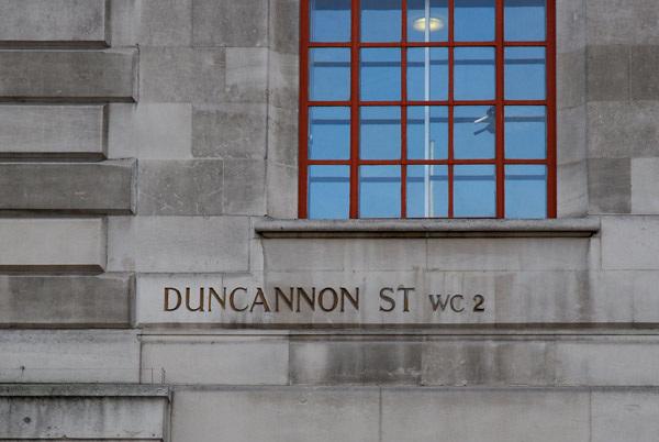 Duncannon St WC2