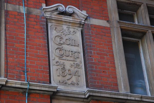 Cecil Court 1894
