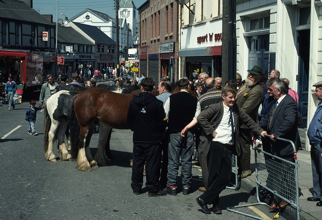 Old Ireland: the Ballyclare Horse Fair