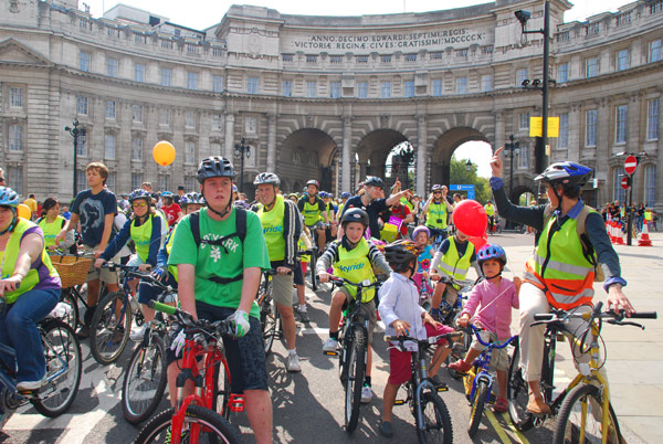Skyride, Admiralty Arch