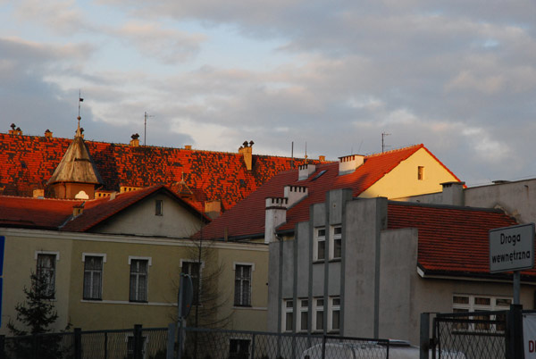 Legnica roofs