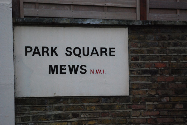 Park Square Mews NW1