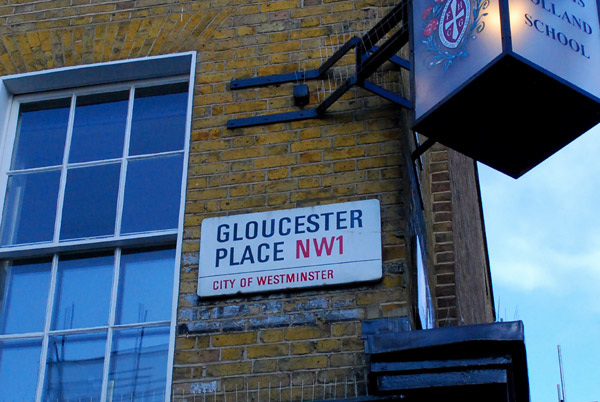 Gloucster Place NW1