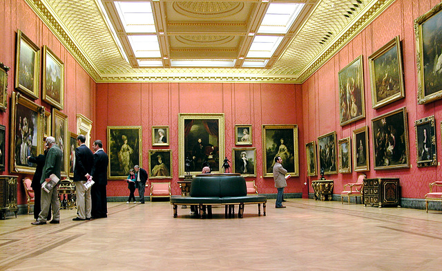 The Wallace collection - The large gallery