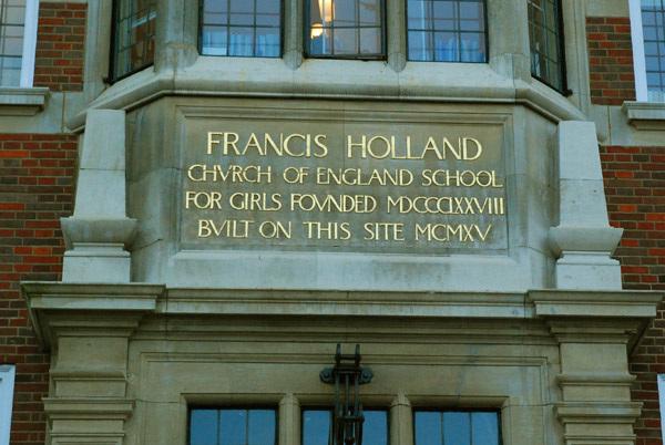 Francis Holland School entrance