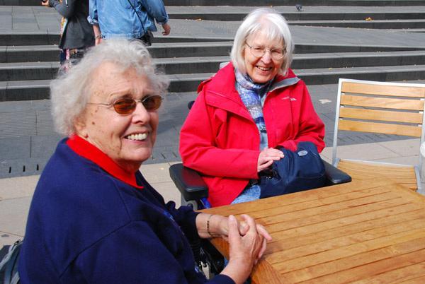 Mum and Nora