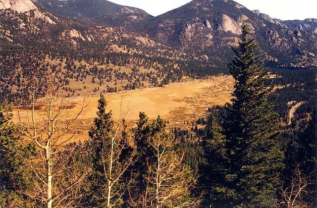 Some old pics from the USA: Rocky Mountains National Park