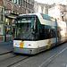 Tram to Moscou in Ghent (Belgium)