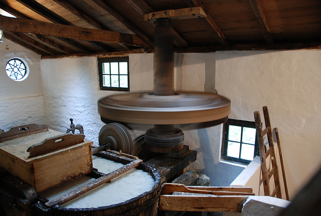 A visit to the Open Air Museum (Heritage Park): Paper mill