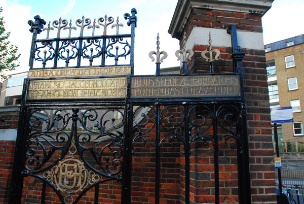 Francis Holland School gate