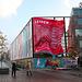 Banner promoting Leiden blown away again