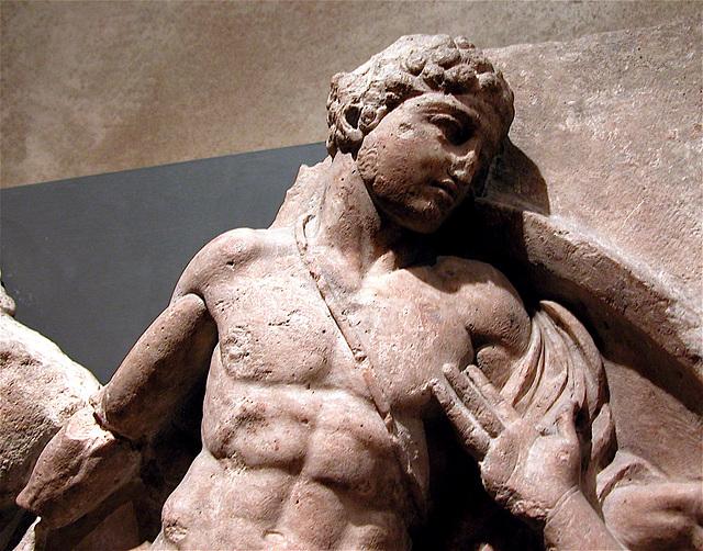 British Museum: Frieze of the Temple of Apollo Epikourios at Bassae in Arcadia