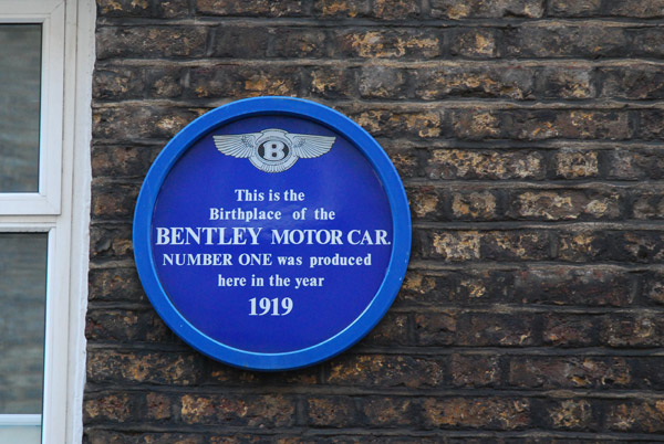 Birthplace of the Bentley