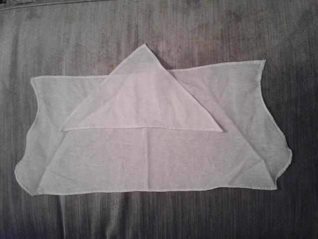 coif & forehead cloth