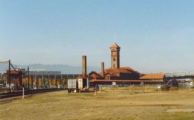 Some old pictures of Portland, OR: Union Station