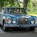 Oldtimer day at Ruinerwold: 1971 Mercedes-Benz 280 S