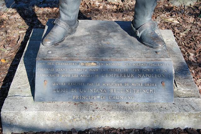 The feet of Napoleon