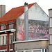 Old Coca-Cola ad in Bredene (Belgium)