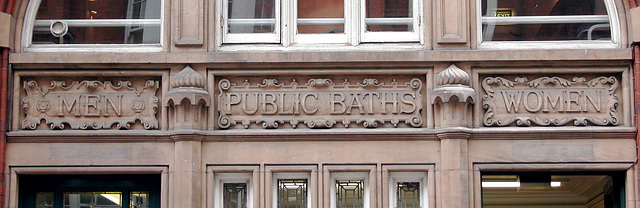 The public baths in Great Smith Street