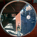 Convex mirror in Leuven (Belgium)