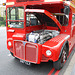 Routemaster with open bonnet