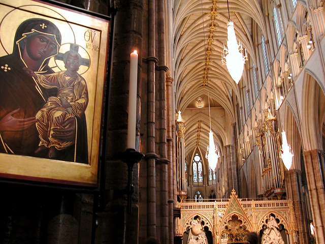 Westminster Abbey - Where I listened to the Johannes Passion