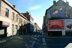 Old Sunlight ad in Leuven (Belgium)