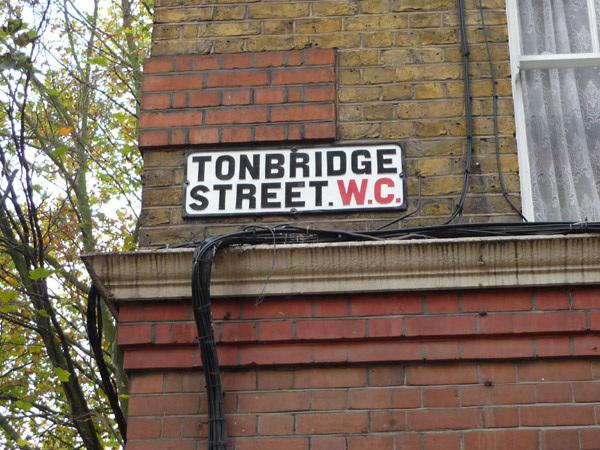 Tonbridge Street WC1