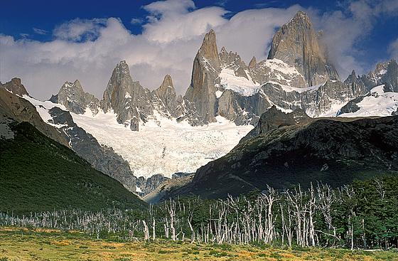 Cerro Fitz Roy in the Sky