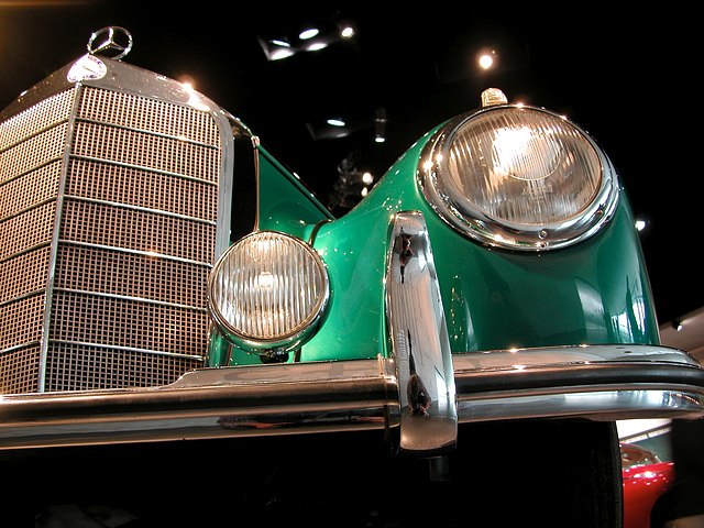 In the Mercedes-Museum