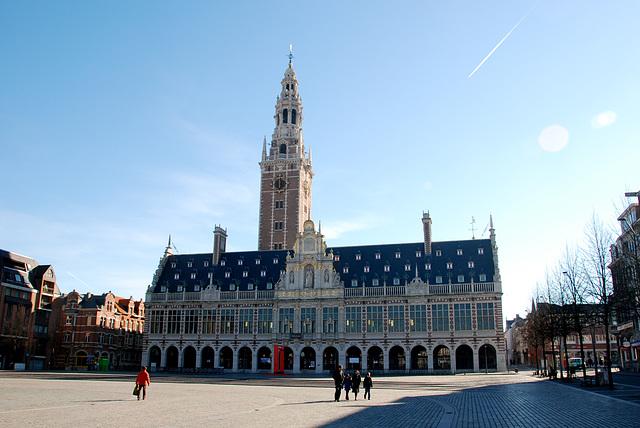 The University Library of Leuven University