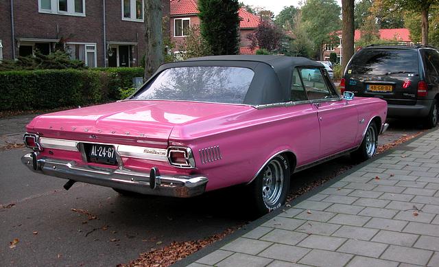 Dutch 1965 Plymouth Satellite convertible