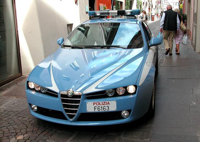 Holiday day 3: Italian police car