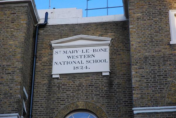 St Mary-le-Bone Western National School
