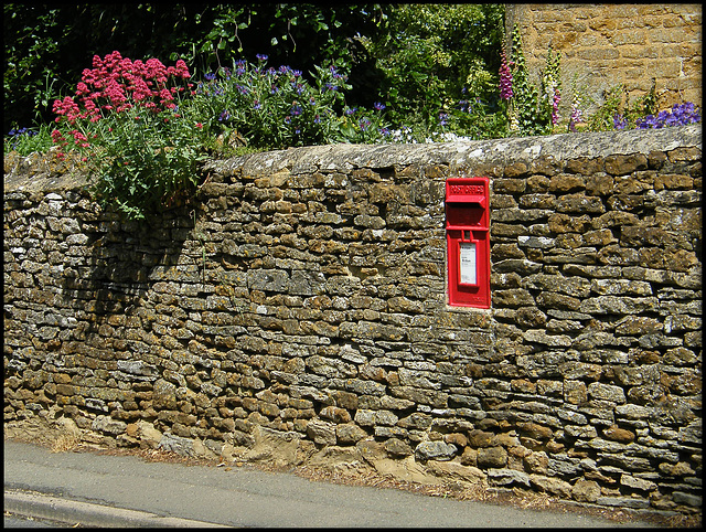 post box in Netting Street