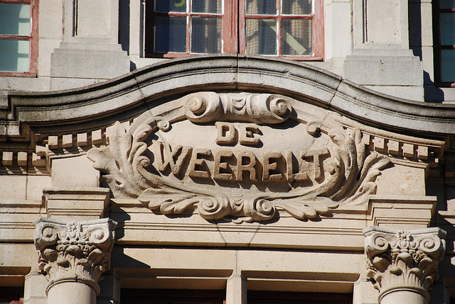"House ""De Weerelt"" (The World)"