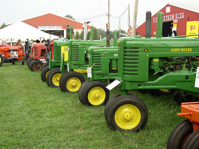 Indiana State Fair Antique Tractors
