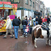 The Leiden's Relief Fair: Pony rides