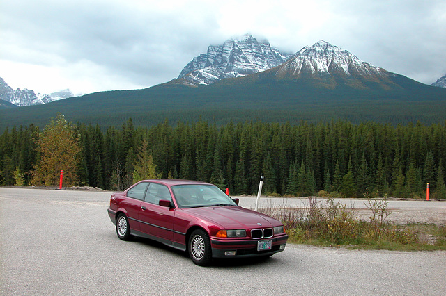 Bimmer in the Rocky Mountains