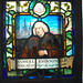 Samuel Johnson stained glass