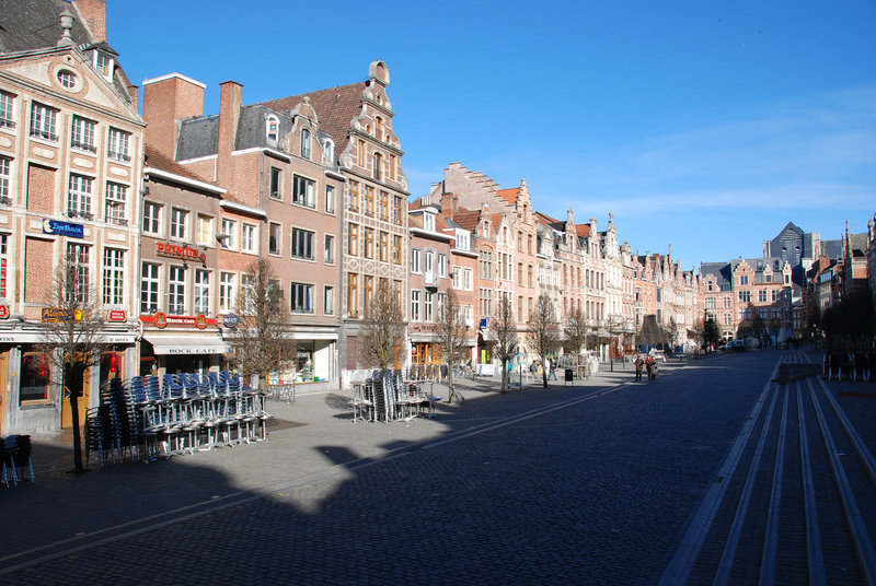 Old Market in Leuven