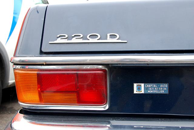 1971 Mercedes-Benz 220 D