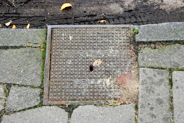 More drain covers: Grofsmederij Leiden