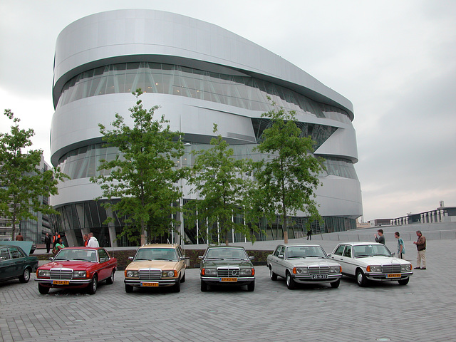 A visit to the Mercedes Museum with my Mercedes Club